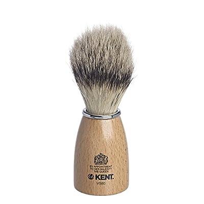 Kent Wooden Barrel Immitation Badger Shaving Brush Small