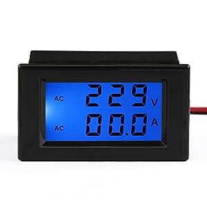 drok digital ac amp volt multim tre amp rem tre voltm tre ac 80 300v 0 200a voltage amp re. Black Bedroom Furniture Sets. Home Design Ideas