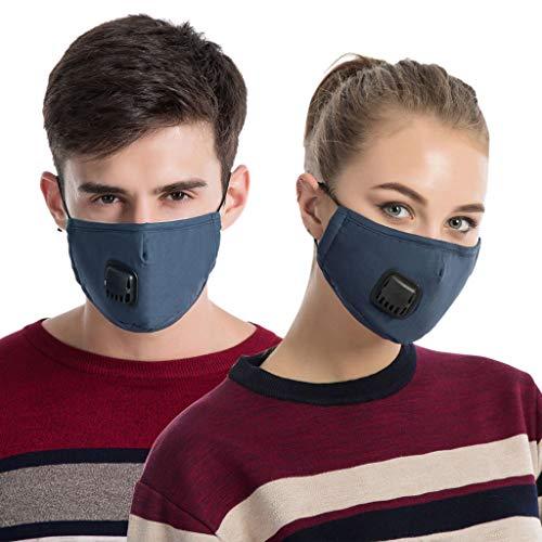 Gwxevce Männer Unisex Winter Baumwolle PM2.5 Mundmaske