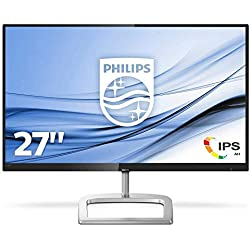 "Philips 276E9QJAB/00 27"" LCD Monitor with Ultra Wide Colour, Black"