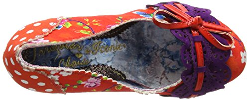 Irregular Choice Damen Make My Day Pumps, Blau Red (Red Multi)