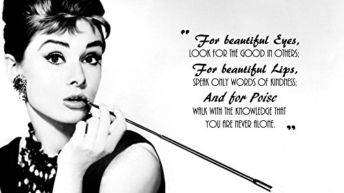 Posterhouzz Celebrity Audrey Hepburn Actresses United Kingdom HD Wall Poster  available at amazon for Rs.199
