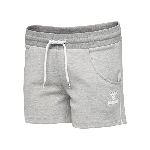 Hummel Damen Short Whitley Shorts 200480 Grey Melange M