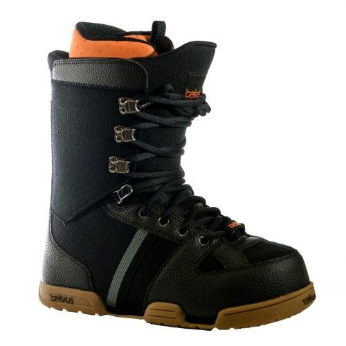 Celsius adato Snowboard Boots, Schwarz/Gum, Größe 12 Snowboard-boots Größe 12