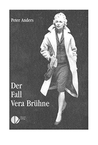 Buch: Der Fall Vera Brühne. Tatsachenroman von Peter Anders