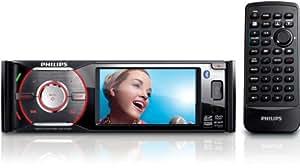 """Philips CED370/00 200W Bluetooth Noir récepteur multimédia de voiture - récepteurs multimédias de voiture (AM,FM, 8,89 cm (3.5""""), 350 cd/m², 320 x 240 pixels, LCD, Noir)"""