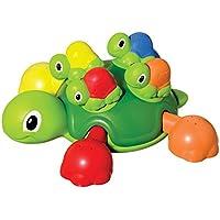 TOMY Schildkrötenfamilie – Bunter Bade- und Lernspaß für Badewanne, Pool und Schwimmbad – Ab 12 Monate preisvergleich bei kleinkindspielzeugpreise.eu