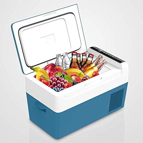 Kievy Compresor Caja fría Nevera de Camping Camión 24V / 12V / 220-240V (22L) Mini refrigeradores del Coche Enfriador de Coche Viajes de Larga Distancia de conducción y Camping