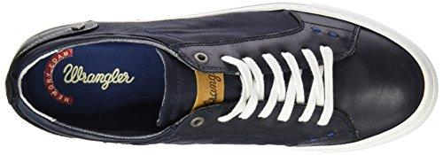 Wrangler Raul, Sneaker Basse Uomo Blu (Blau (16 NAVY))