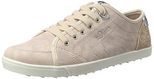 s.Oliver 23631, Sneakers basses femme Rose - Pink (ROSE 544)