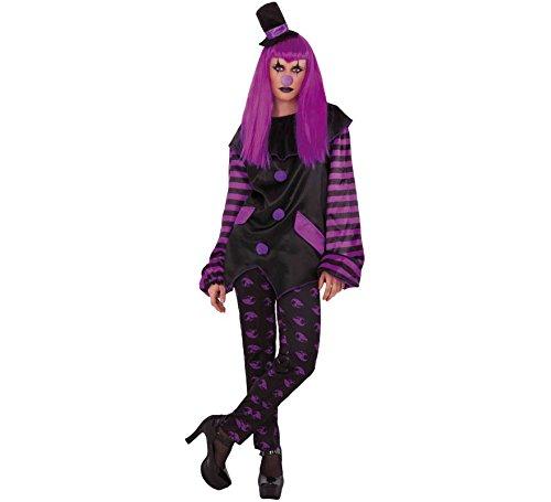 Haunted House Kostüm Clown Malvada AD, Mehrfarbig (S8527) Clown Haunted House