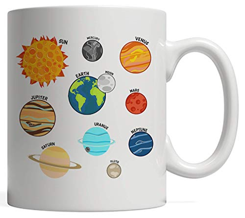 Solar System Planets Gift | For Those Who Love Stars, Space, and Rocket Ships - Let's go Discover...