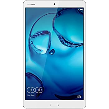 "Huawei MediaPad M3 - Tablet de 8.4"" (Octa Core, Memoria Interna de 32 GB, 4 GB RAM, Cámara de 8 Mp, Android 6.0), Color Plateado"