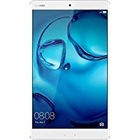 Huawei Mediapad M3 4G Lte Tablet, Display da 8,4 IPS/WQXGA, Processore Kirin Octa-Core, RAM 4 GB, HDD da 32 GB, Argento