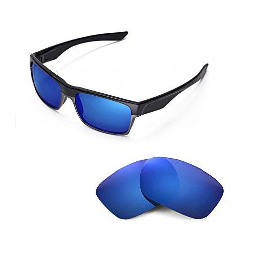 Walleva Ersatzgläser für Oakley TwoFace Sonnenbrille - 6 Optionen (Eisblau)