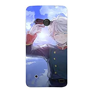 perfect print Back cover for Nokia Lumia 530