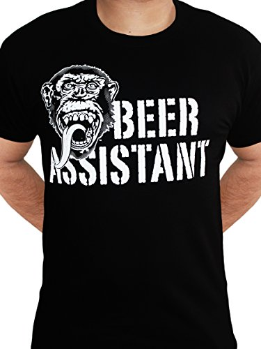 Gas-Monkey-Garage-Beer-Assistant-Custom-Motors-Fast-N-Loud-Black-Mens-Tshirt