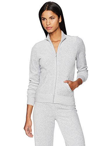 Juicy Couture Damen Sweatshirt Gr. S, Silver Lining - Juicy Couture Damen Pullover