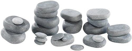 newgen medicals Hot Stone Massage: Professionelles Hot-Stone-Set: Wärmegerät & 23 Steine (Heisse Steine) - Bild 2