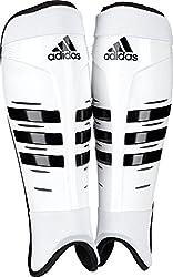 Adidas Hockey Shin Pads, White, M