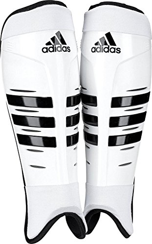 adidas Hockey Shin Pads, Weiß, M
