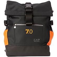 Emporio Armani EA7 mochila bolso de hombre en Nylon nuevo blu