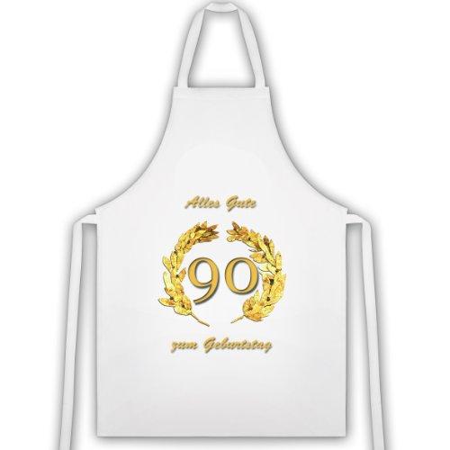 Rahmenlos tablier ≤ «90» ans, gold. idée cadeau