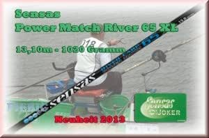 Sensas power match 65XL rIVER de 13 kits 1020Gr. 5 m