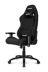 Ak Racing K7012, Gaming Stuhl, schwarz
