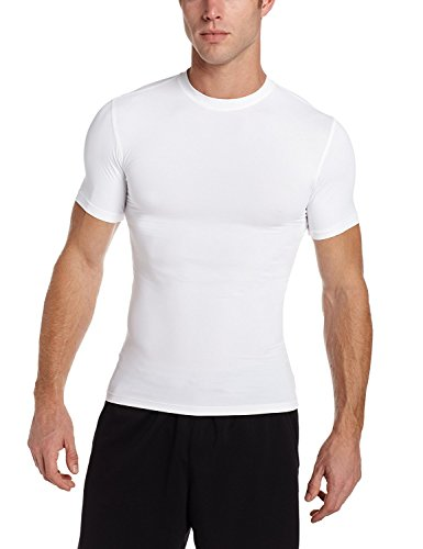 KD Willmax Compression Top Half Sleeve Plain White Large Athletic Fit Multi Sports Cycling, Cricket, Football, Badminton, Gym, Fitness & Other Outdoor Inner Wear  available at amazon for Rs.449