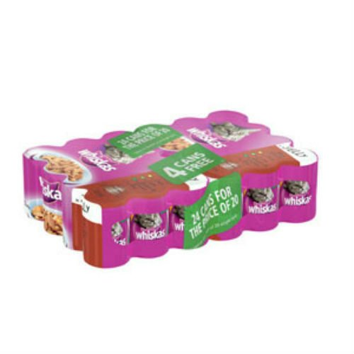 whiskas-adult-cat-food-tins-400gm-x-24
