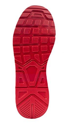 Sport Femmes et Hommes Chaussures rangers Chaussures de course profil semelle Baskets Rot Santa Ana