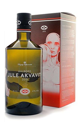 1 Flasche Jule Aquavit Aalborg Edition 2015 a 0,7L 47{61b8ed470c14b0ffa0d88c20d0300b0b74d135e3da8855f7a2d0379ad34f3453} Vol. Jubiläum