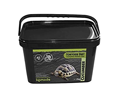 Komodo Complete Balanced Diet for European Tortoises: Cucumber - 2kg from Komodo