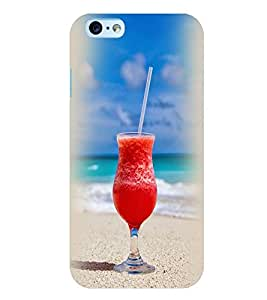 Printvisa Beach Cocktail Back Case Cover for Apple iPhone 6 Plus