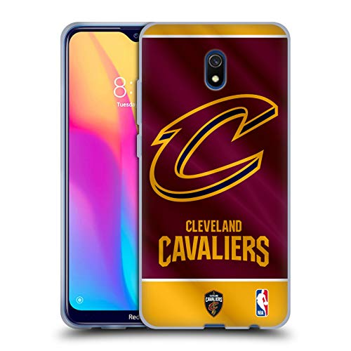 Head Case Designs Offizielle NBA Banner 2019/20 Cleveland Cavaliers Soft Gel Huelle kompatibel mit Xiaomi Redmi 8A -