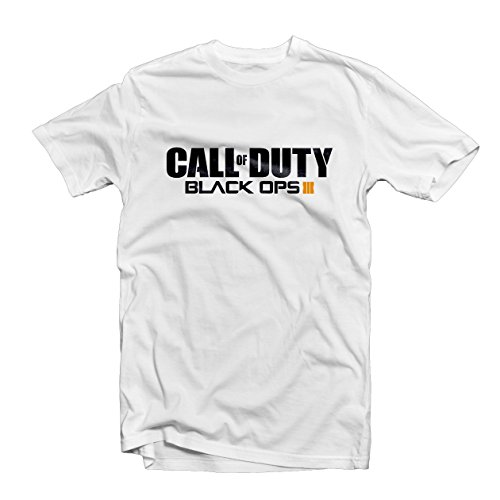 Call Of Duty Black Ops 3t shirt 1484–Xbox PS4Gamer Zombi cod BO3nuketown White