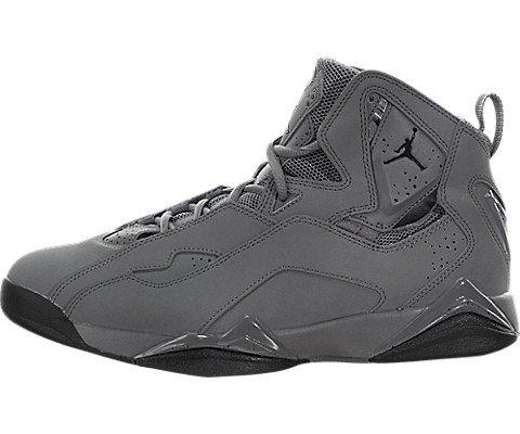 Jordan Herren True Flight Basketball-Schuh, Grau - Cool Grey/Black - Größe: 42.5 (Shox R4)