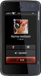 Nokia N900 Smartphone (UMTS, WLAN, GPS, Maemo, 5 MP, QWERTZ-Tastatur) black