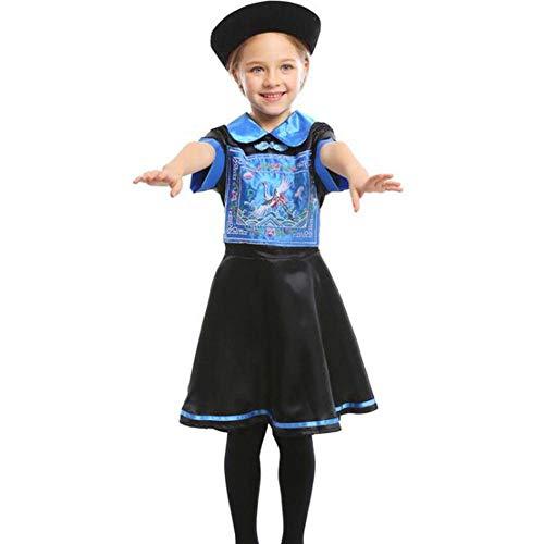 Für Berühmte Zeichen Kostüm - QWE Halloween Kostüm Zombie Rollenspiel Kostüme Kindertag Bühnendrama Kostüme Kinder Performance Kostüme