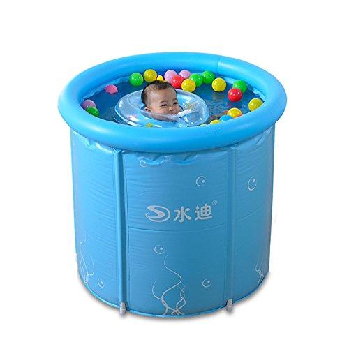 Preisvergleich Produktbild Aufblasbare Schwimmbad Planschbecken Kinder Erwachsene Gerüst Isolierung Schwimmen Eimer Haushalt Umweltschutz 70 * 70 cm