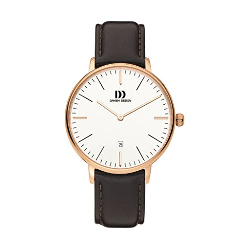 Danish Design Unisex Analogue Quartz Watch with Leather Strap IQ17Q1175