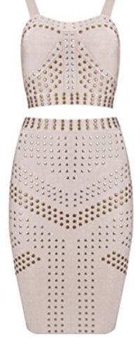 HarrowandSmith - Tailleur-jupe - Femme L Beige