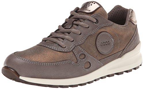 Ecco ECCO CS14 LADIES Damen Hohe Sneakers Braun (LICORICE/WARM GREY/WARM GREY METALLIC 58844)