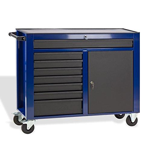 DEMA Werkstattwagen DW8ST blau / schwarz