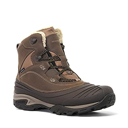 Merrell Women's Snowbound Mid Waterproof High Rise Hiking Shoes