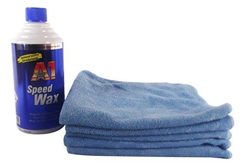 Dr. Wack A1 Speed Wax Wachs Autowachs Auto Politur 500 ml & Mikrofasertuch 5 Stk