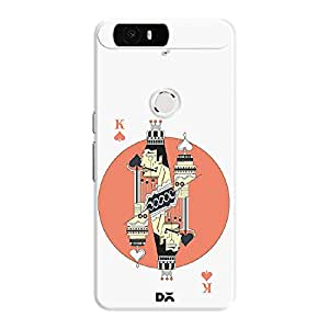 DailyObjects Cards King Spades White Mobile Case for Huawei Nexus 6P