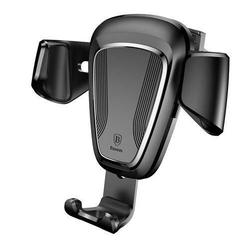 Baseus Universal Auto Handyhalterung KFZ Handyhalter Car Mount Air Vent Mount Lüftungsgitter 360 Grad Drehung für GPS, iPhone, Samsung Galaxy, Sony Xperia, LG, HTC und mehr