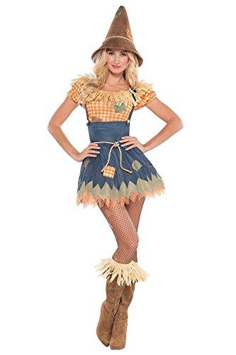 lscheuche- Kostüm für Damen - Grösse 44/46 (Die Große Oz Kostüme)